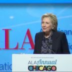 Hillary Clinton Says Libraries Are Essential In Fight To Defend 'Truth And Reason'