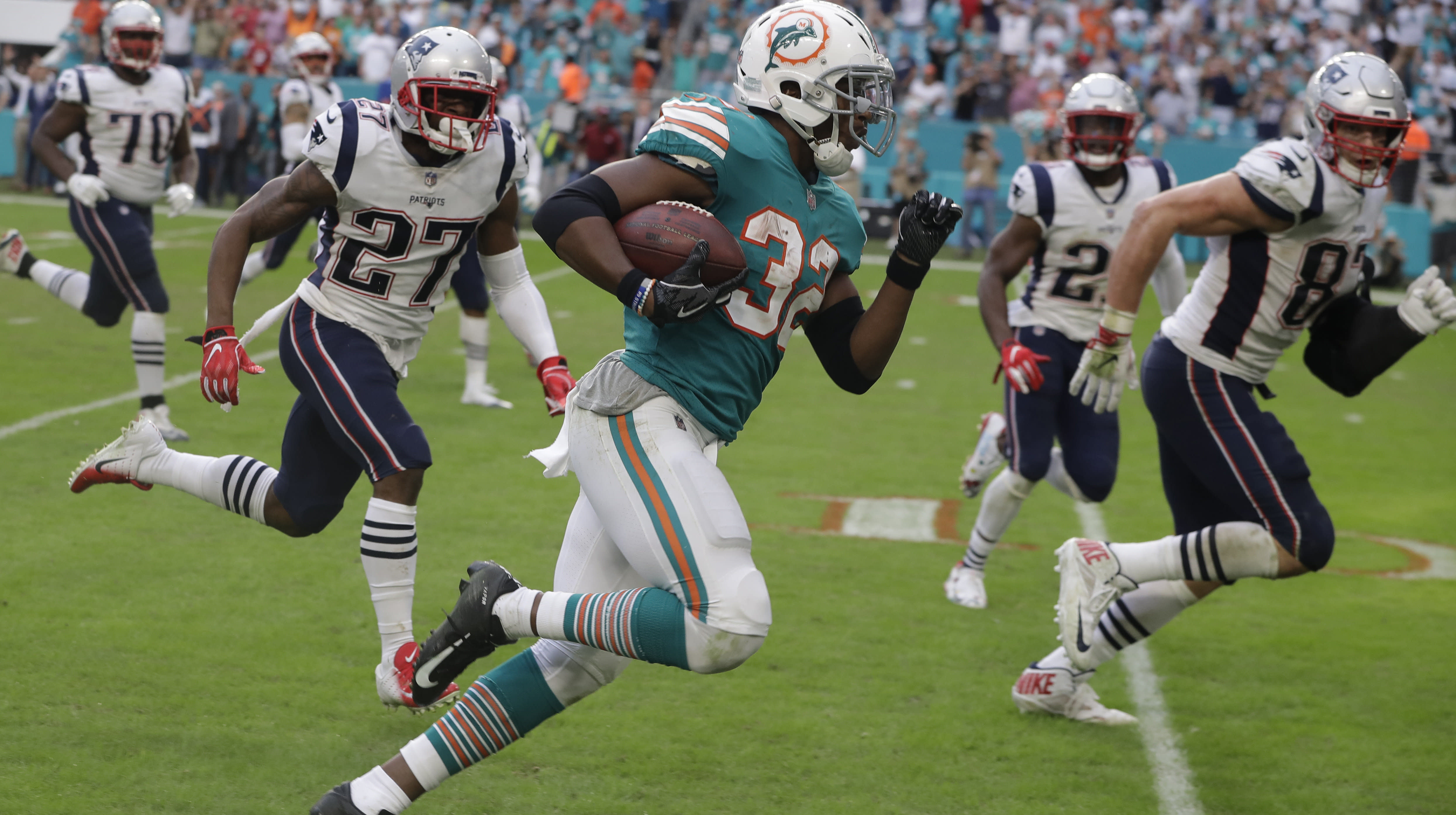Miami Dolphins Needed A Miracle To Beat The Patriots. Watch What Happened.