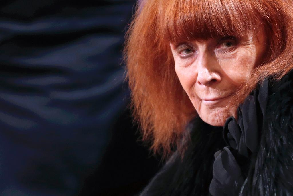 French designer Sonia Rykiel will be remembered in the fashion industry as a visionary who helped cement Paris as the capital of couture (AFP Photo/Christian Hartmann)