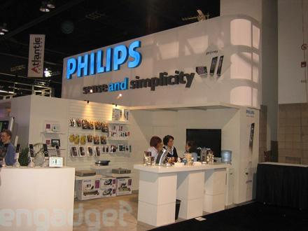 Philips' CEDIA booth tour