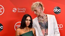 Megan Fox and Machine Gun Kelly make red carpet debut at American Music Awards