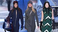 Kendall Jenner, Gigi Hadid & Others Moon Walk Down the H&M Runway in Paris
