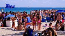 COVID: Playa de Florida prohíbe la llegada de turistas de otros estados en víspera de las vacaciones de primavera