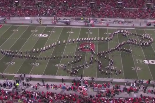 Ohio State University's marching band might be the greatest band ever