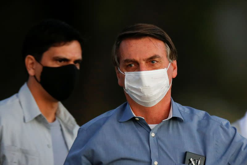 Brazil's Bolsonaro asks top court to unblock supporters' profiles amid fake news probe
