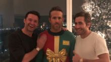 Ryan Reynolds posts pic with Hugh Jackman and Jake Gyllenhaal, gives it the perfect caption