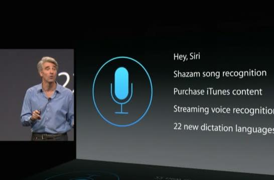 WWDC 2014: Siri's upcoming update means she's always listening