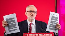 Jeremy Corbyn defends use of NHS trade documents amid Russian influence claims