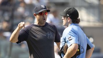 Yankees trio ejected as feud with umps continues