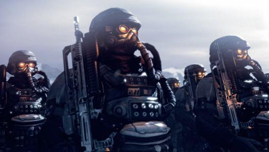Killzone 3 contains over an hour of cutscenes