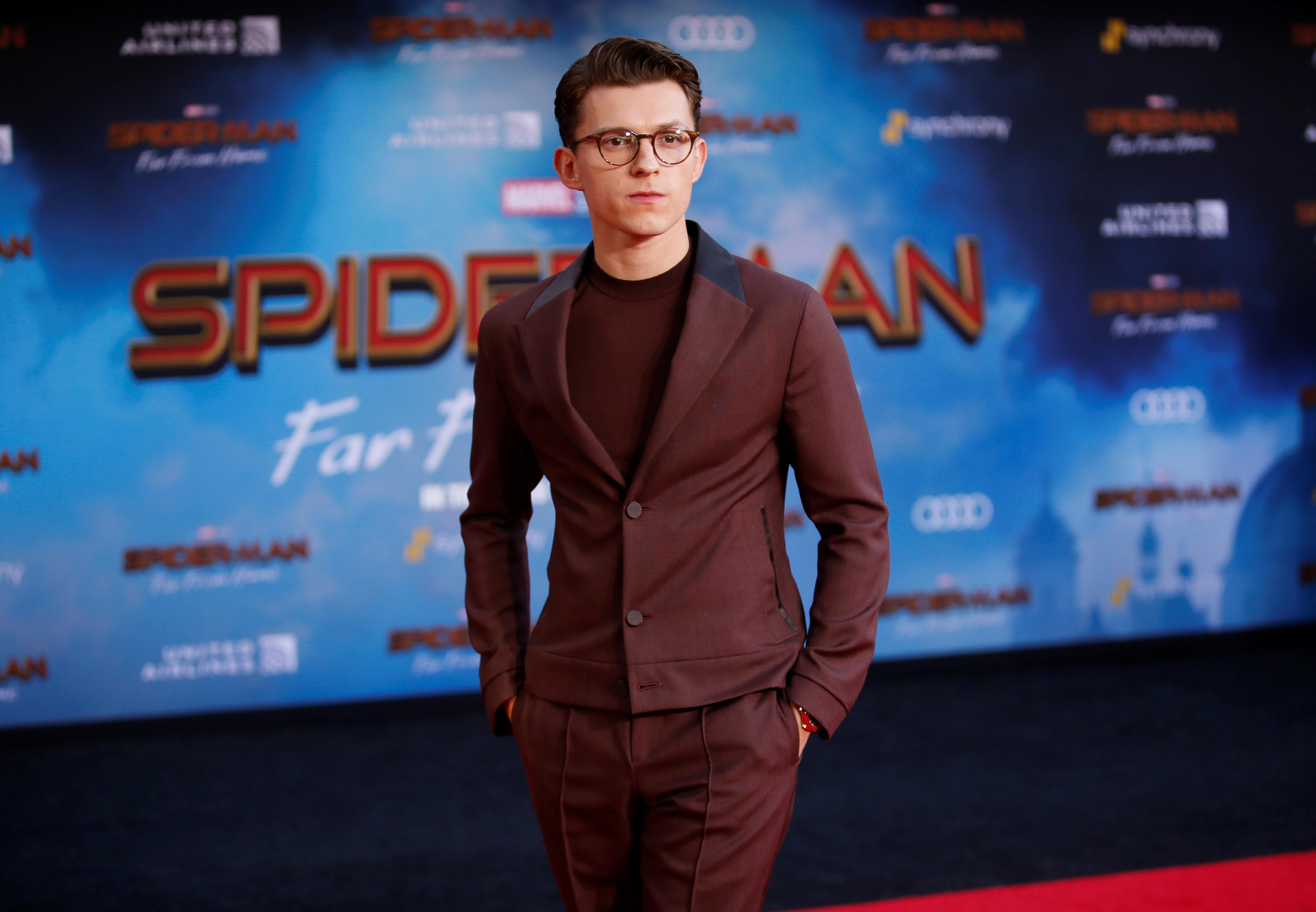 'Spider-Man' star Tom Holland addresses his 'crazy week' with a classic Marvel movie quote