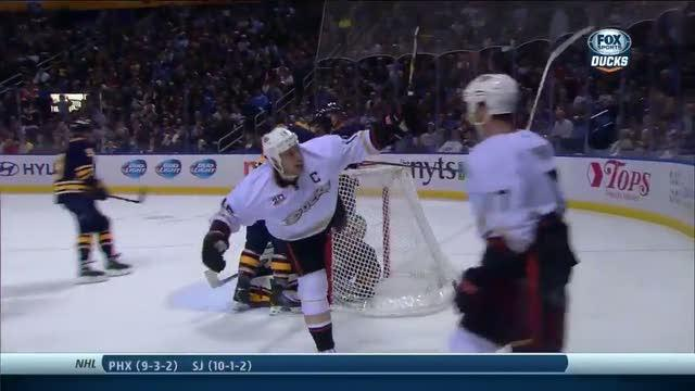 Getzlaf scores nice give and go from Penner