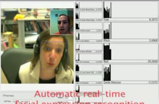 Expression recognition turns humans into remote controls... for robots