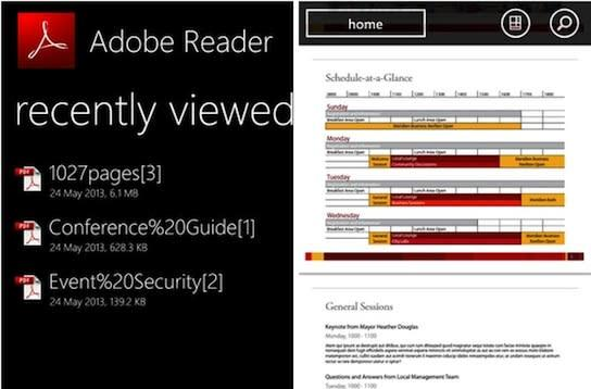 Adobe Reader now available for Windows Phone 8, no longer limited to 7.5