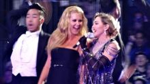 Amy Schumer Gets Madonna to Do a Human Pyramid — and It's Amazing