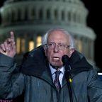 Bernie Sanders denounces 'outrageous' Trump ad as 'so sad for our country'