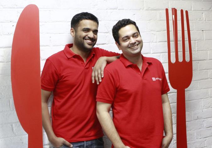 Zomato founders (Sanjeev Verma/Hindustan Times via Getty Images)