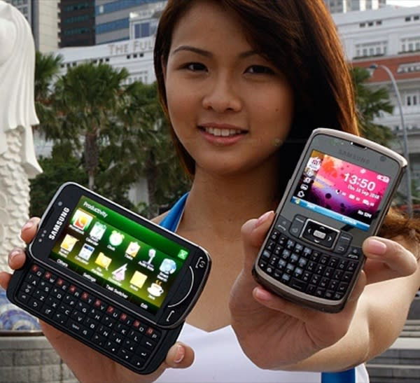 Samsung Omnia Pro B7610 slider gets official reveal