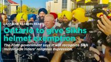 VOTE: Should turban-wearing Sikhs be exempt from wearing helmets on motorcycles?