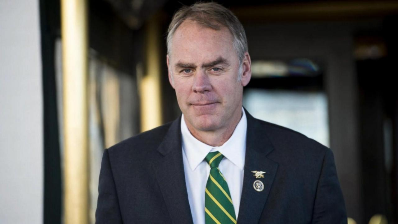 Ryan Zinke Everything You Need To Know About The New Interior Secretary