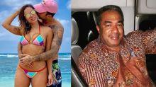 Pai de Anitta promete 'arrumar problema' se a cantora terminar o namoro com Scooby