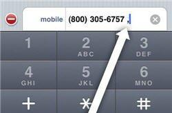 iPhone 101: Save extensions in Contacts