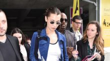 How to get Bella Hadid, Irina Shayk, and Stella Maxwell's 'first-class' airport style