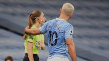 Sergio Aguero to face no action over Sian Massey-Ellis incident during Man City vs Arsenal match