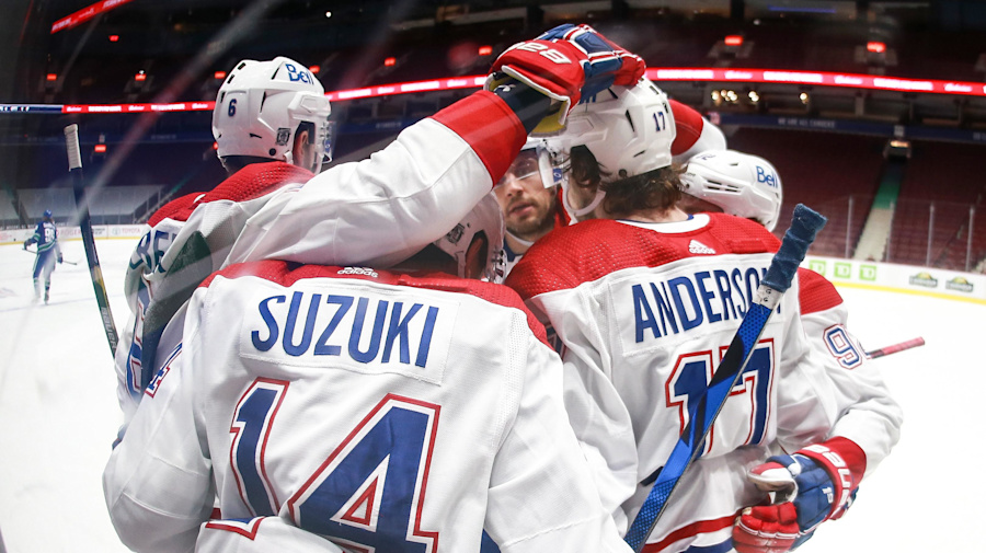 Canadiens setting the standard in North Division