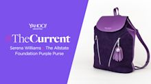 How a purple backpack designed by Serena Williams will support domestic violence victims