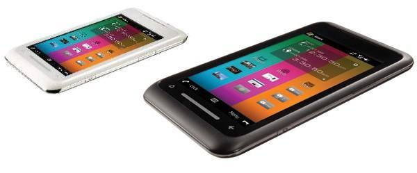 Toshiba TG01 with 4.1-inch WVGA touchscreen: a world's first Snapdragon