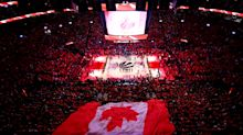 Drake, Raptors fans belt out epic rendition of 'O Canada' ahead of Game 5