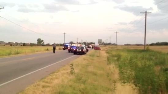 Officers at scene of SW OKC motorcycle accident