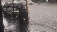 Fitzroy Streets Flooded After Massive Deluge Hits Melbourne