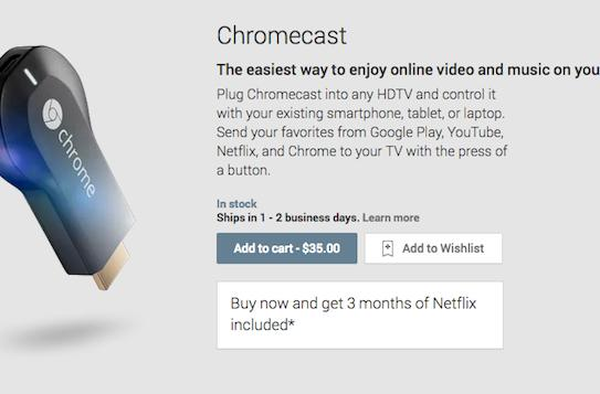Google introduces Chromecast, a $35 HDMI streaming solution for televisions (video)