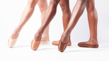 Ballet shoes to match darker skin tones have finally arrived in the UK