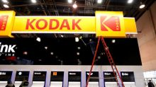 Kodak shares plunge after U.S. blocks $765 million loan deal