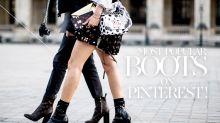 Pinterest 上今季最受歡迎的 Ankle Boots,竟然只需港幣 400 多元!