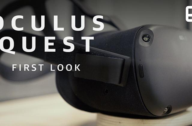 Oculus Quest has Rift-like VR without the wires