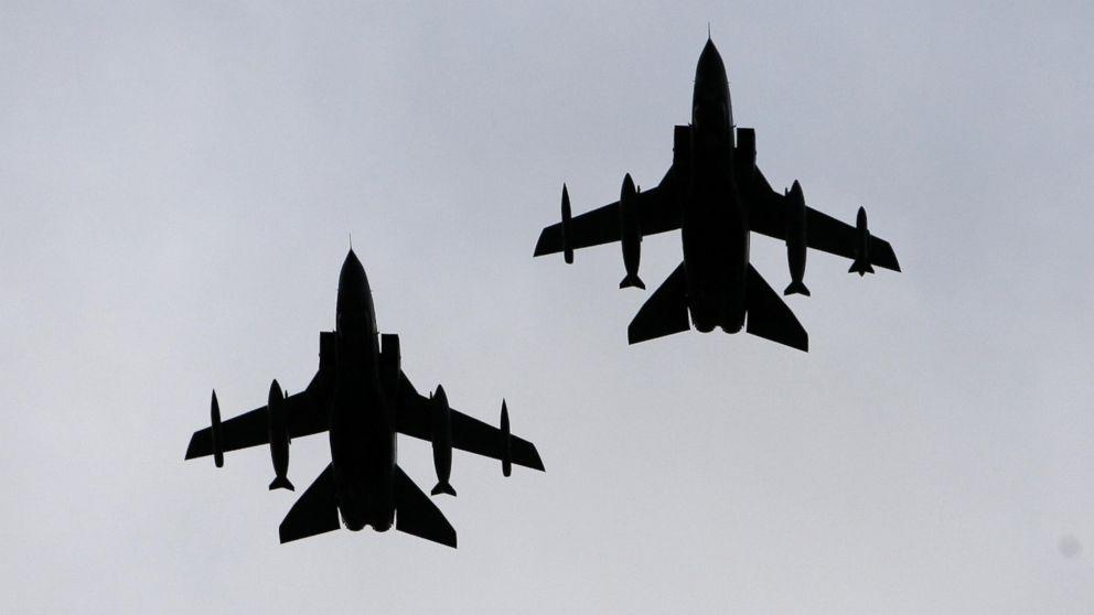 UK Targets ISIS Bunker With Royal Air Force's Largest Bombs
