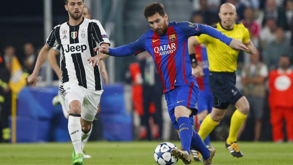 Así jugó Messi el último partido ante la Juventus