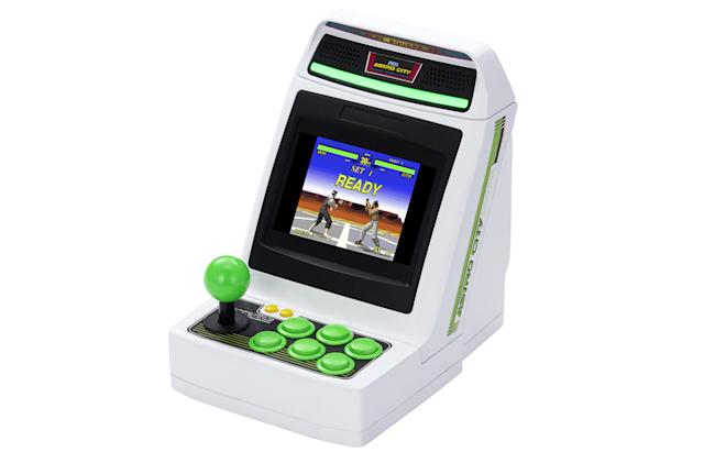 Sega's Astro City Mini arcade cabinet comes with 36 games