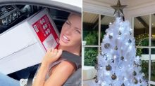 Sophie Monk trolled over 'crap' Big W Christmas tree