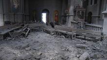 Haut-Karabakh: une cathédrale prise pour cible par des frappes azerbaïdjanaises