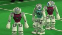 Raw: Robot Soccer in the Netherlands
