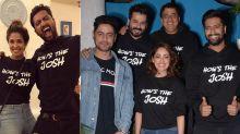 Vicky Kaushal With Girlfriend Harleen, Yami Gautam, Mohit Raina And Others Celebrated The Success Of Uri