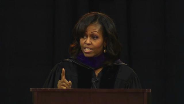 Michelle Obama decries