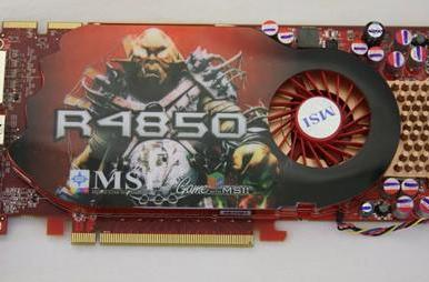 RV770-based AMD Radeon HD 4850 gets benchmarked