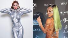 Baile da Vogue: famosas apostam em pintura corporal, joias de R$ 100 mil e seios de fora