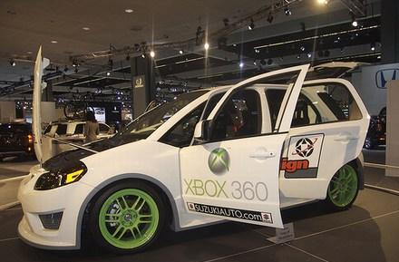 Suzuki's Xbox 360-infused SXBox concept vehicle